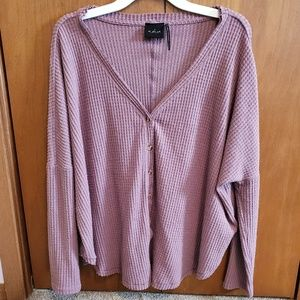 Urban Outfitteres Button Up Front Long Sleeve